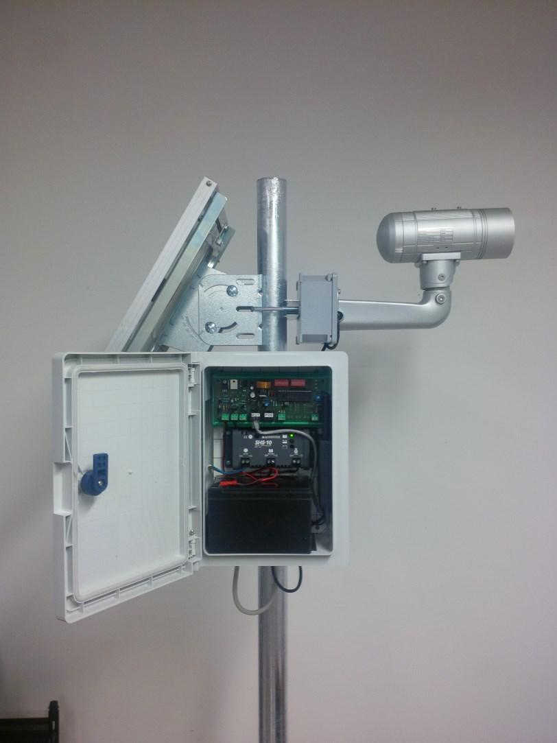 Pannello Solare Per Telecamera : Telecamera solare gcam