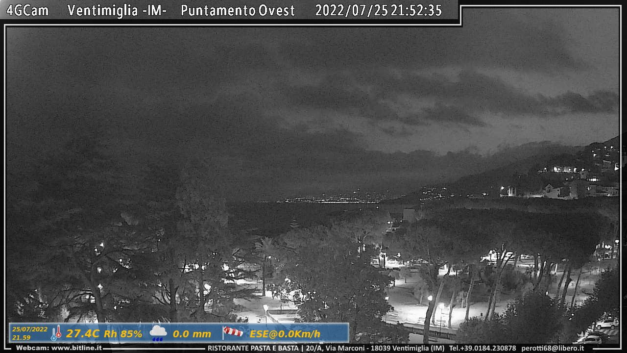 Webcam Ventimiglia - 4G Cam